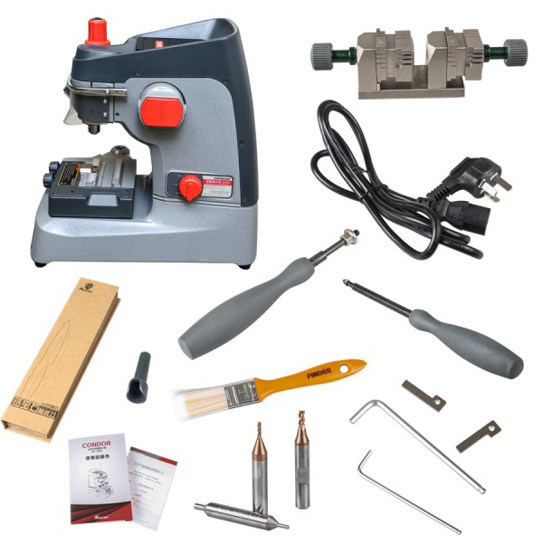 Condor XC-002 Manually Key Cutting Machine with VVDI MB BGA Tool Get One Token Free Everyday