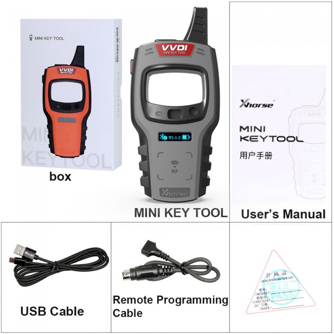 V2.35 Xhorse VVDI MINI Key Tool GL Version Get Free ID48 96bit and One Token Free Everyday One Year [UK Ship]
