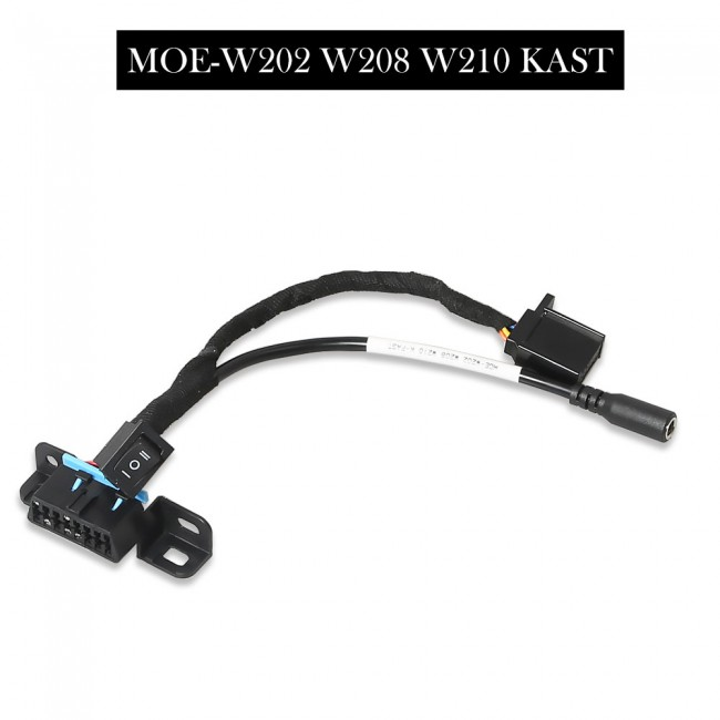 OBD Test Line 7 pcs for W209/ W211/ W906/ W169/ W208/ W202/ W210/ W639 EZS Cable works with VVDI MB Tool