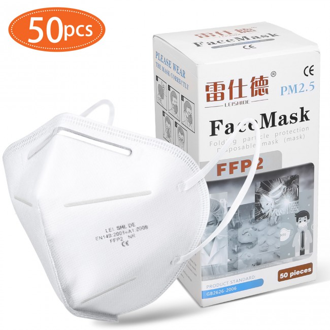 KN95 Masks Protective Face Mask Dust Filter Mouth Cove 50 pcs/lot In Stock Shpping by DHL
