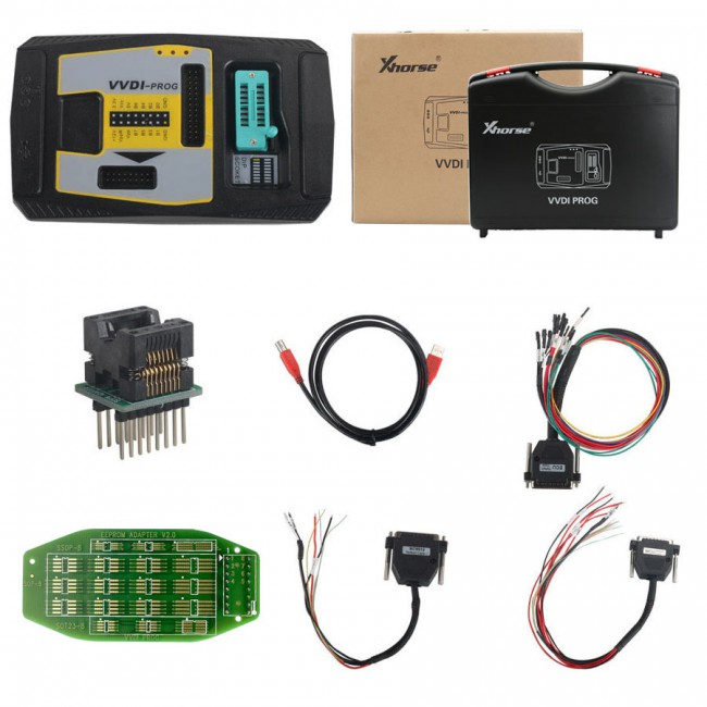 Xhorse VVDI PROG Programmer with BMW FRM/READING DEVICE without Soldering Free Shipping Update Online