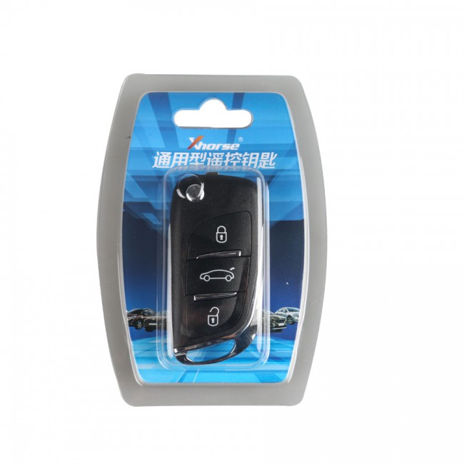 XHORSE VVDI2 Volkswagen DS Type Universal Remote Key 3 Buttons (Independent packing) 5pcs/lot