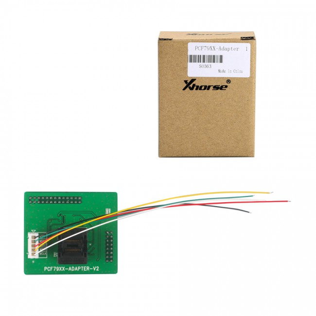 Xhorse PCF79XX Adapter for VVDI PROG Programmer To Read and write PCF79XX transponder Support PCF7922/41/45/52/53/61