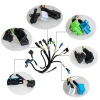 BENZ EIS/ESL cable+7G+ISM + Dashboard Connector works with VVDI MB BGA Tool