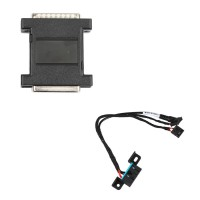 VVDI MB BGA Tool Power Adapter Plus Xhorse EIS/ELV Test Line for W204 W212 W221 W164 W166